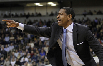 Kevin Ollie's team looked a little less intense than when they played Syracuse.