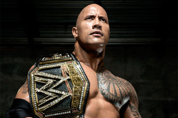 The Rock unveiled his new WWE Championship Belt on Raw, but who will get a chance to take it at WrestleMania 29? Photo Courtesy of WWE.com