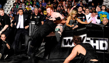 Roman Reigns and Sheamus were a part of this exciting encounter at Elimination Chamber. Photo Courtesy of WWE.com