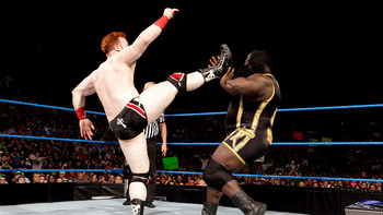 Sheamus and Mark Henry had a feud a few months ago that may be rekindled at WrestleMania 29. Photo Courtesy of WWE.com