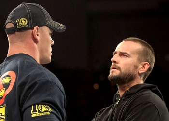 Cena put his No. 1 Contender spot up against CM Punk at next week's Raw. Photo Courtesy of WWE.com