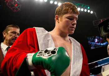 Canelo is likely up next in September should he win his next fight.
