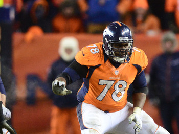 The Broncos will likely have to use the tag on Ryan Clady.