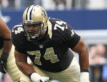 Jermon Bushrod is the only name for the Saints who could receive the franchise tag.