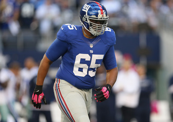 Will Beatty is the top priority for the Giants this offseason.