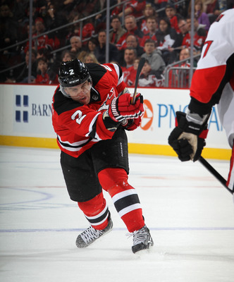 Zidlicky and Salvador make up the Devils' top defensive pair.