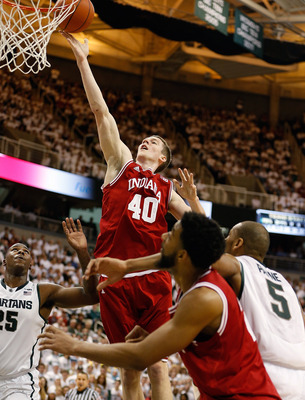 Cody Zeller took matters into his own hands during the opening minutes against Michigan State on Tuesday night.