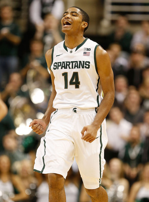 Gary Harris was one of Indiana's top prep players in 2011-12.