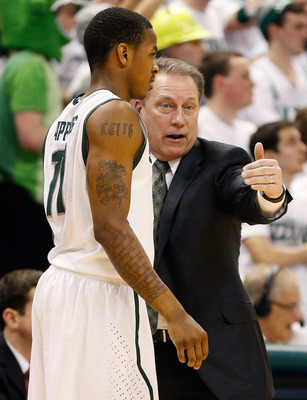 Keith Appling wasn't his typical self Tuesday against Indiana.
