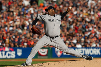 Sabathia will carry a heavy load at the top of the rotation.