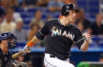 Morrison is moving from the outfield to first base for the Marlins in 2013.