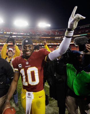 Robert Griffin III and the Redskins may be the kings in the NFC East once again.