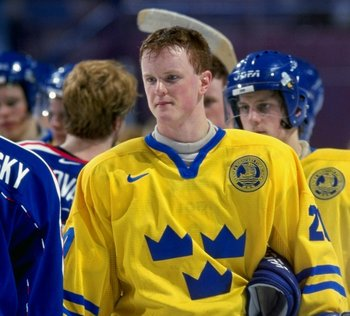 Henrik Sedin at World Juniors—January 1999