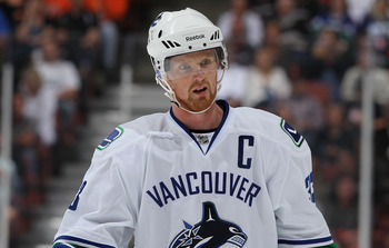 Henrik Sedin became the Canucks' 13th captain in 2010.