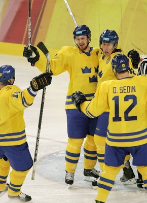 Henrik and Daniel won gold in Turin with Team Sweden in 2006.