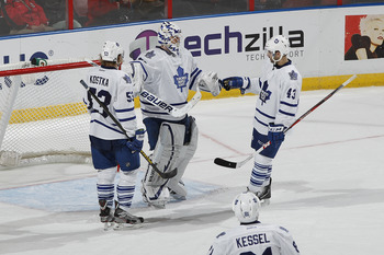 The Toronto Maple Leafs are off to a good start in 2013.