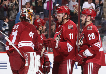 The Phoenix Coyotes have picked up the pace in February.