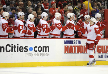The Detroit Red Wings have been somewhat disappointing thus far.