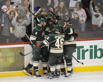 The Minnesota Wild face a tough task to break the top eight.