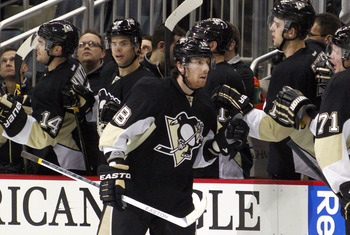 James Neal celebrating one of his seven power-play goals this season.
