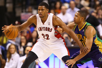 Toronto Raptors' Rudy Gay