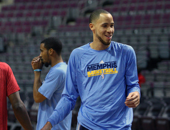 Memphis Grizzlies' Tayshaun Prince