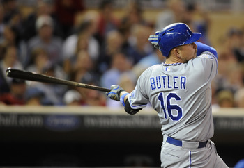 Butler is only 26, but he is already one of the most consistent all-around hitters in baseball.