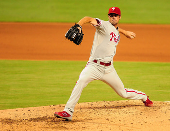 Despite the many big names on this aging staff, the 29-year-old Hamels is the rightful ace of the Phillies.