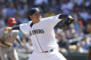 King Felix signed a monstrous extension this offseason, and he will be the best player on this team for a long time.