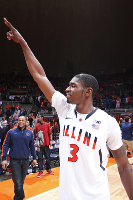 Brandon Paul is known for turning in monster performances when Illinois is an underdog.