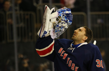 Look for defending Vezina winner Henrik Lundqvist to close out the season strong.