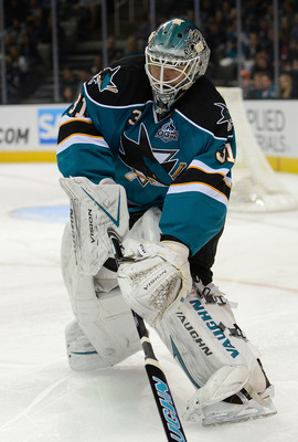Sharks goalie Antti Niemi has a 1.86 goals-against average on the season.