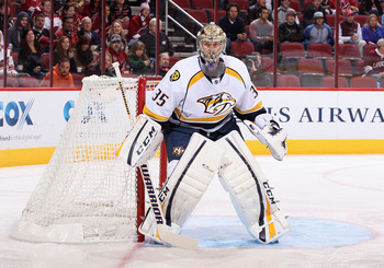 Nashville goalie Pekka Rinne has started hot this season.