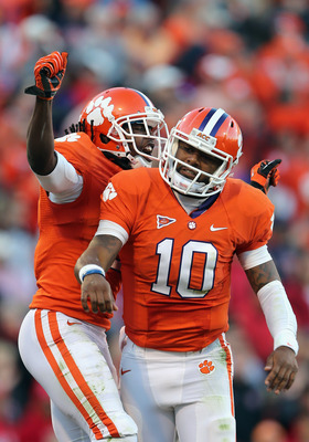 Tajh Boyd and Sammy Watkins