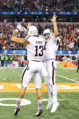 Johnny Manziel and Mike Evans