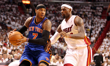 Despite the Knicks successes this season, don't expect them to get past the Heat in the playoffs.