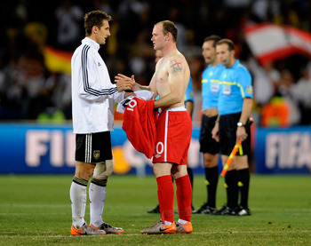 Swapping shirts is a sign of respect that has lasted for decades.