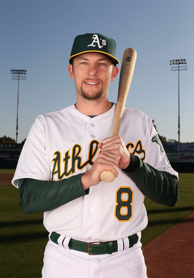 New A's infielder Jed Lowrie gives manager Bob Melvin additional infield depth.