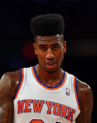 Will Iman Shumpert and his 8-inch high top fade remain in the Big Apple?