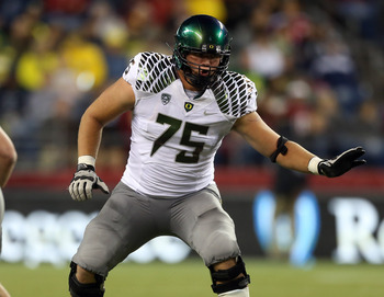 Oregon OT Jake Fisher