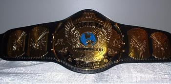 Many top names held the Winged Eagle title in the early 90s. Photo by: ThinkWrestling.net