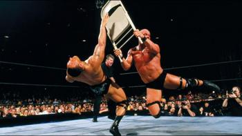 Their biggets and best match headlined WrestleMania X-7. Source: WWE.com