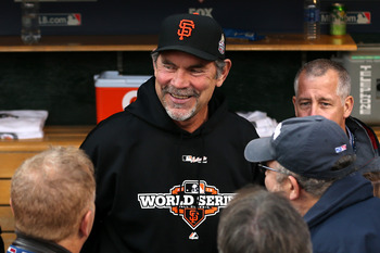 Bruce Bochy has led the Giants to two World Series titles in the past three years.