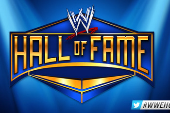 The newest incarnation of WWE's Hall of Fame logo (Image Obtained From WWE.com)