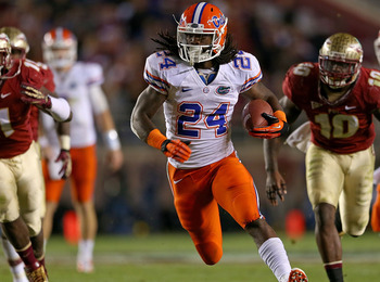 Florida RB Matt Jones