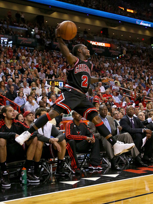 Nate Robinson led the Bulls with 14 points