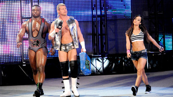 Dolph Ziggler and AJ Lee