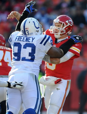 Dwight Freeney can help teams needing to improve pass rush.