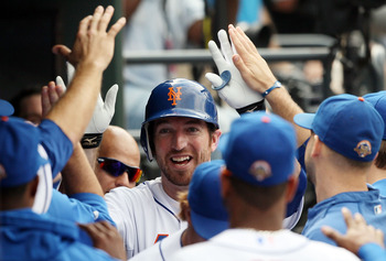 Ike Davis has more than three million reasons to smile these days.