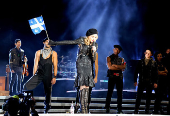 Madonna on the plains...who would have thought? Image by Blogue.Enmusique.ca